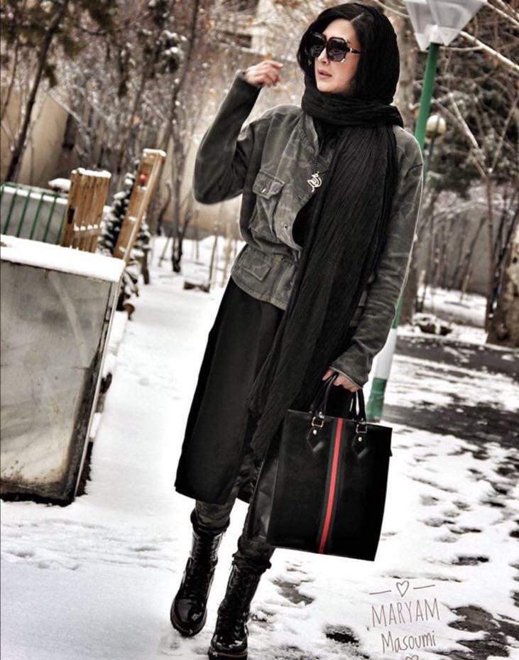 گردنبند طلا سرکارخانم مريم معصومی