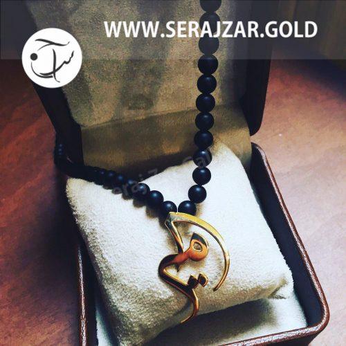 گردنبند طلا با اسم امیر