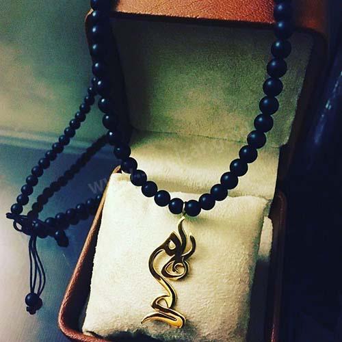 گردنبند طلا با اسم فاطمه