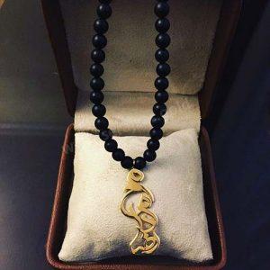 گردنبند طلا با اسم محمد رضا