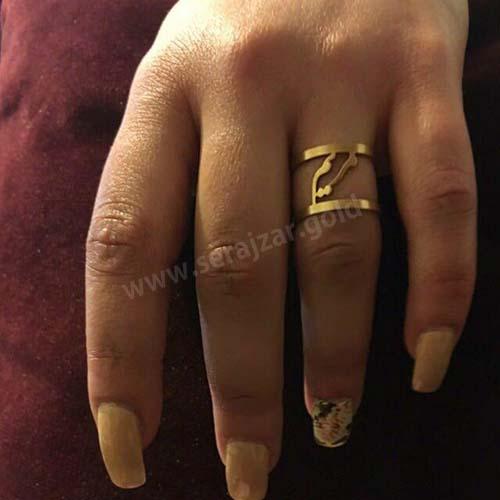 انگشتر طلا اسم مریم