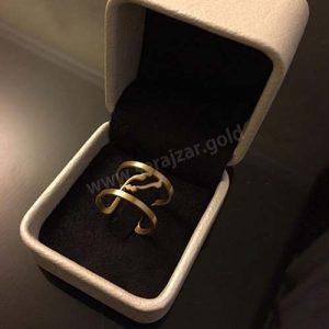 انگشتر طلا با اسم مریم