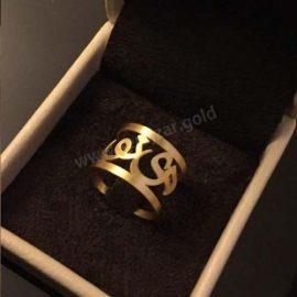 انگشتر طلا با اسم مینو
