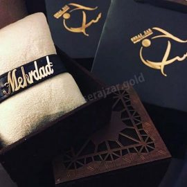 دستبند طلا اسم مهرداد