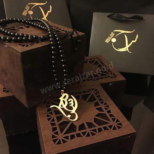گردنبند طلا اسم محسن