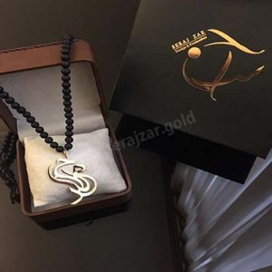 گردنبند طلا با اسم حامد