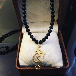 گردنبند طلا با اسم محمد