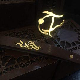 دستبند طلا اسم محمد