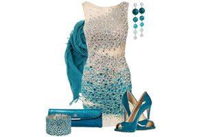 ست کردن جواهرات با رنگ لباس