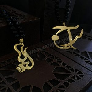 گردنبند طلا اسم لیلا