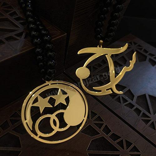 آویز طلا لوگوی استقلال