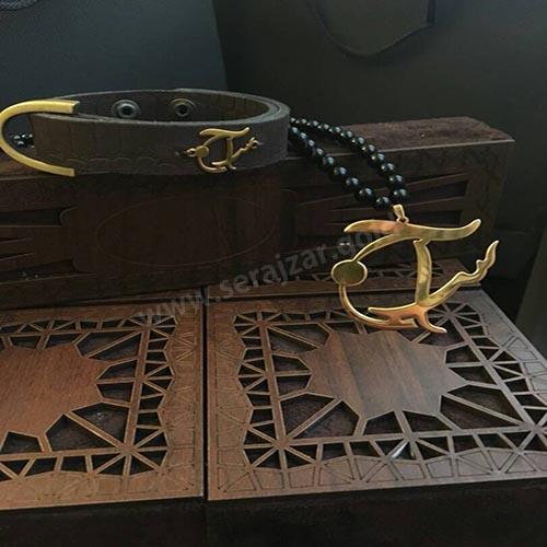 دستبند طلا سراج