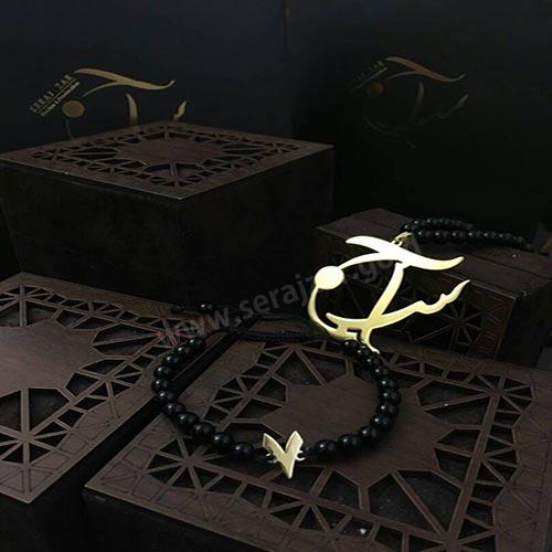 دستبند طلا عدد 7