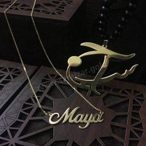 گردنبند طلا اسم مایا
