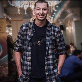 گردنبند طلا اسم بهرام افشاری