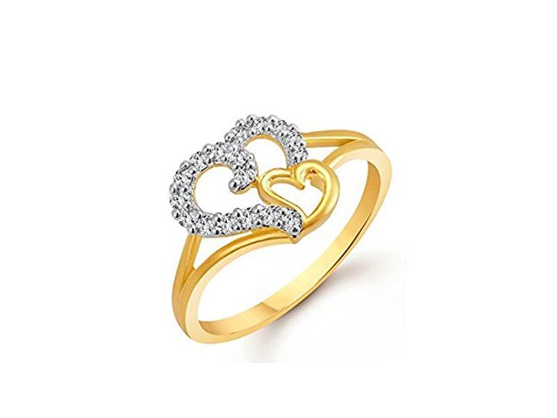 انگشتر زنانه با طرح قلب