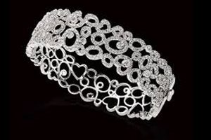 دستبند های طلا سفید