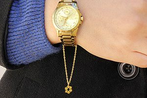 ساعت طلا