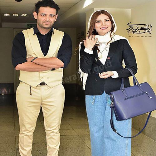 خانم متین ستوده و آقای امیر حسین آرمان