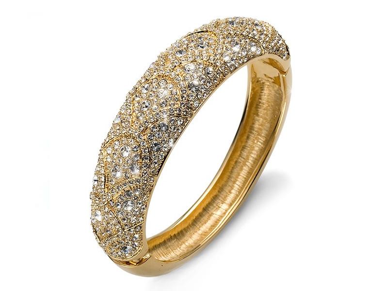 دستبند النگویی طلا