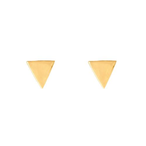 گوشواره طلا مثلثی ساده