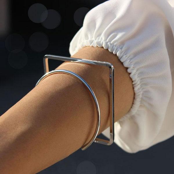 دستبند طلا ساده