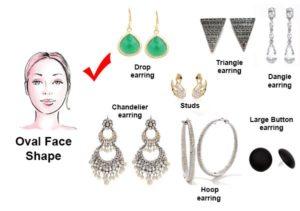 جواهرات مناسب فرم صورت