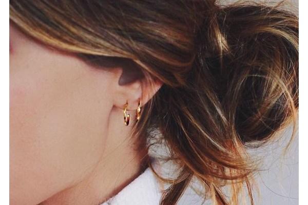 گوشواره های حلقه ای کوچک