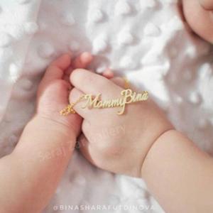 گردنبند طلا فانتزی مامی بیتا