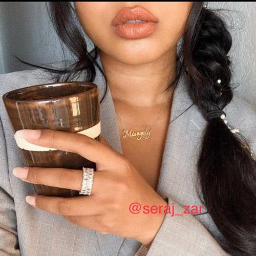گردنبند طلا فانتزی زنانه