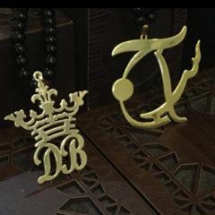 گردنبند طلا تاج DB