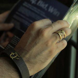 دستبند طلا با طرح سراج