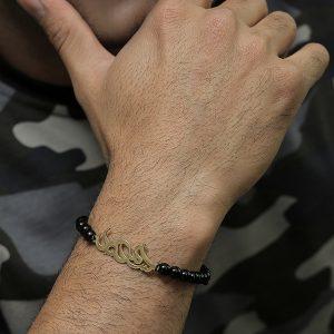 دستبند طلا با طرح سمیرا