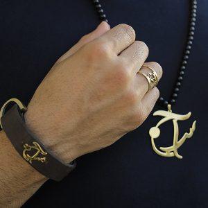 گردنبند طلا با طرح سراج