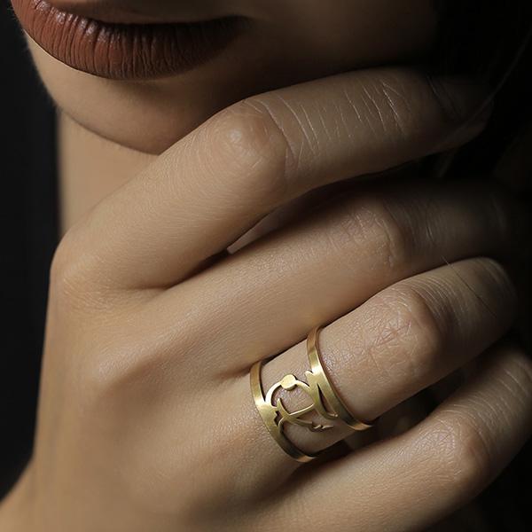 انگشتر طلا سراج
