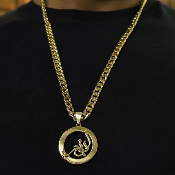 گردنبند طلا اسم ابوذر