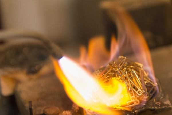 ریخته گری در تولید طلا و جواهرات
